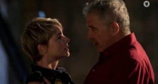 Linsa e Andre innamorati, Tempesta d'amore © ARD (Screenshot) (1)