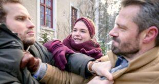 Maja cerca di separare Florian e Erik, Tempesta d'amore © ARD Christof Arnold