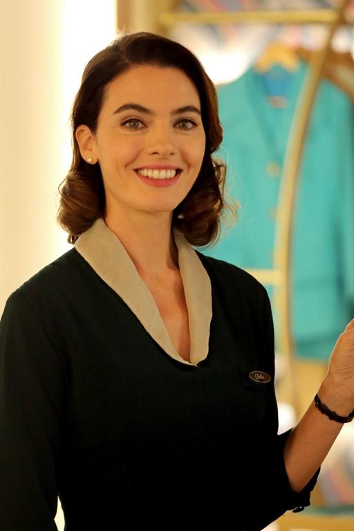 Enrica Pintore è Clelia Calligaris a Il paradiso delle signore