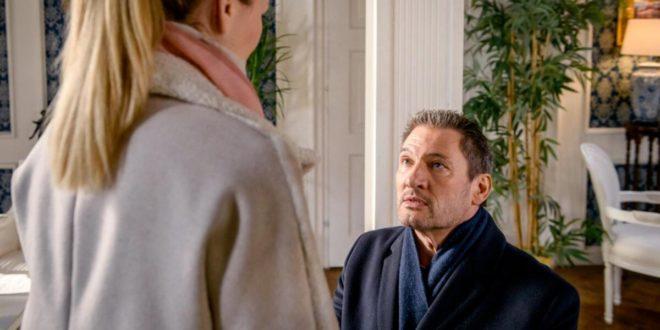 Christoph chiede a Selina di sposarlo, Tempesta d'amore © ARD Christof Arnold