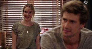 Michelle cancella il suo viaggio per Paul, Tempesta d'amore © ARD (Screenshot)