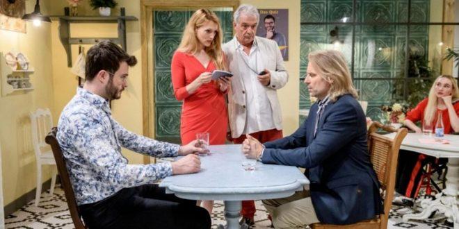 Sebastian e Michael si sfidano davanti a Rosalie e Andre, Tempesta d'amore © ARD Christof Arnold