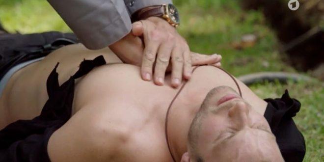 Tim rischia di morire, Tempesta d'amore © ARD (Screenshot) (1)