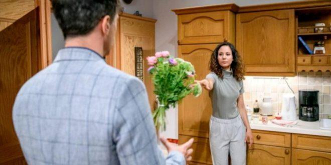 Vanessa respinge le scuse di Robert, Tempesta d'amore © ARD/Christof Arnold