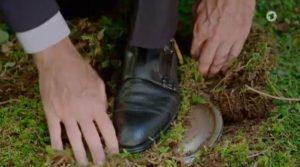 Christoph scopre di essere su una mina, Tempesta d'amore © ARD (Screenshot)