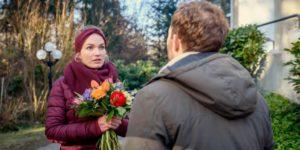 Florian si scusa con Maja, Tempesta d'amore © ARD Christof Arnold