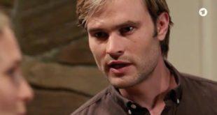 Steffen minaccia Franzi, Tempesta d'amore © ARD (Screenshot)