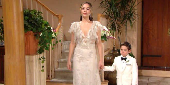 Hope vestita da sposa / Beautiful