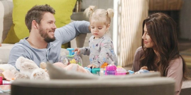 Liam, Kelly e Steffy / Beautiful