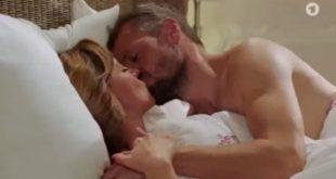 Ariane ed Erik diventano amanti, Tempesta d'amore © ARD Screenshot (1)