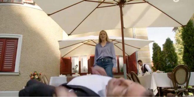 Christoph ha un malore di fronte a Selina, Tempesta d'amore © ARD (Screenshot)