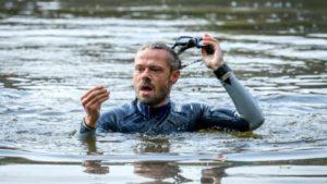 Erik trova la chiave in fondo al lago, Tempesta d'amore © ARD Christof Arnold