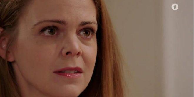 Lucy confessa la verità a Joell, Tempesta d'amore © ARD (Screenshot)