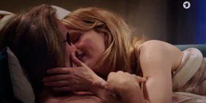 Michael e Rosalie innamorati, Tempesta d'amore © (Screenshot)