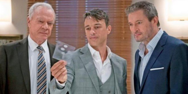 Werner, Robert e Christoph cercano di incastrare Ariane, Tempesta d'amore © ARD Christoph Arnold (1)