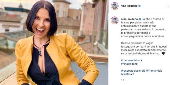 Il ritorno di Nina Soldano a Un posto al sole
