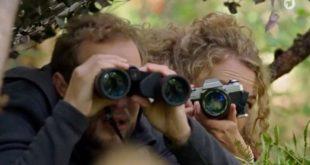 Florian e Maja fanno bird watching, Tempesta d'amore © ARD (Screenshot)