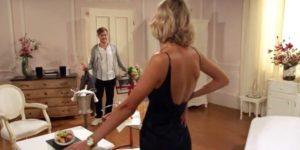 Jil tenta di sedurre Max, Tempesta d'amore © ARD (Screenshot) (1)