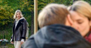 Jil vede Max baciare Amelie, Tempesta d'amore © ARD Christof Arnold