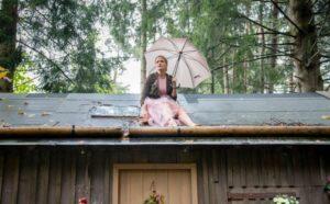 Maja bloccata sul tetto, Tempesta d'amore © ARD Christof Arnold