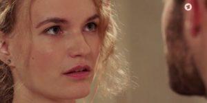 Maja respinta da Florian, Tempesta d'amore © ARD (Screenshot)