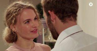 Maja si avvicina a Florian, Tempesta d'amore © ARD (Screenshot)