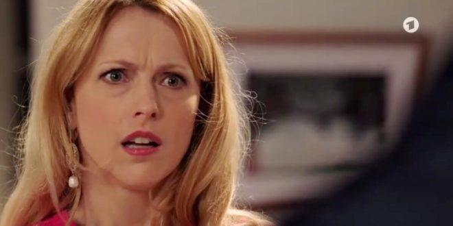 Rosalie sconvolta, Tempesta d'amore © ARD (Screenshot)
