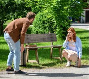 Florian incontra Costanze, Tempesta d'amore © ARD Christof Arnold