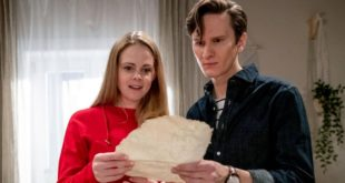 Lucy e Joell trovano una mappa del tesoro, Tempesta d'amore © ARD Christof Arnold