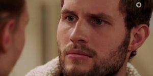 Maja affronta Florian, Tempesta d'amore © ARD (Screenshot)