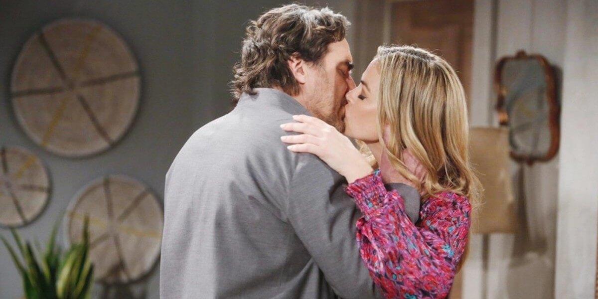 Il bacio tra Ridge e Shauna