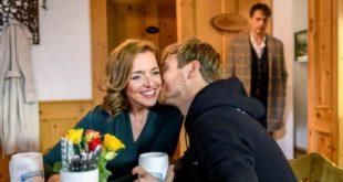Robert vede Cornelia insieme a Max, Tempesta d'amore © ARD Christof Arnold