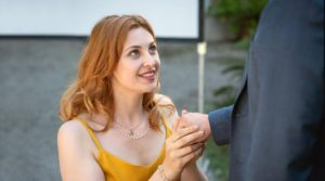 Constanze chiede a Florian di sposarla, Tempesta d'amore © ARD Christof Arnold