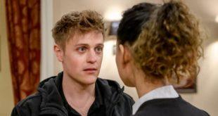 Max sconvolto davanti a Vanessa, Tempesta d'amore © ARD Christof Arnold