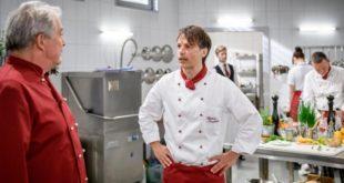 Andre e Robert in cucina, Tempesta d'amore © ARD Christof Arnold