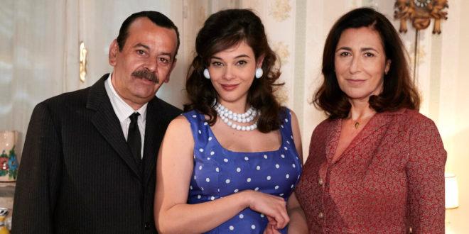 Giuseppe, Tina e Agnese Amato / Il paradiso delle signore