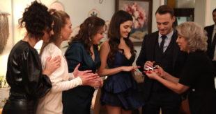 Serkan, Eda e il cast / Love is in the air