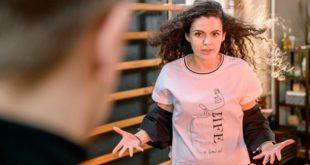 Shirin furiosa con Max, Tempesta d'amore © ARD Christof Arnold